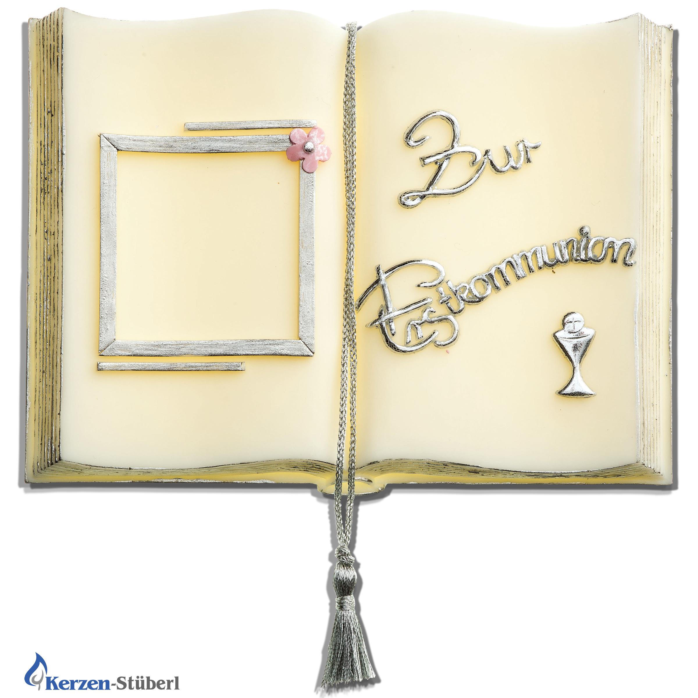 Wachsbuch Geschenk zur Ersten heiligen Kommunion Einzigartig Geschenk Goldene Hochzeit Großeltern