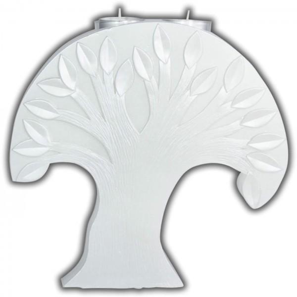 Formenkerze-Bastelkerze-Baum mit Teelichteinsatz