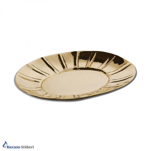 Kerzenteller Gold Test