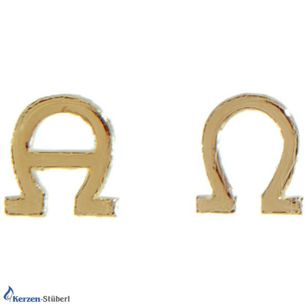 lpha-Omega kleine Ausführung Goldenes Wachs-Verziermaterial