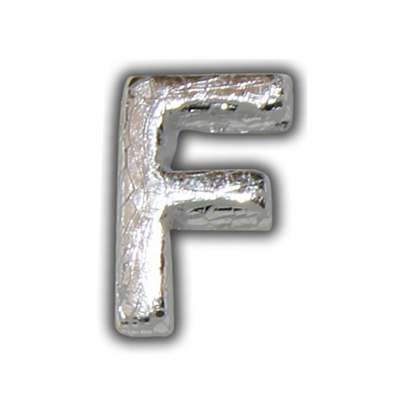 Kerze silber beschriften F Test