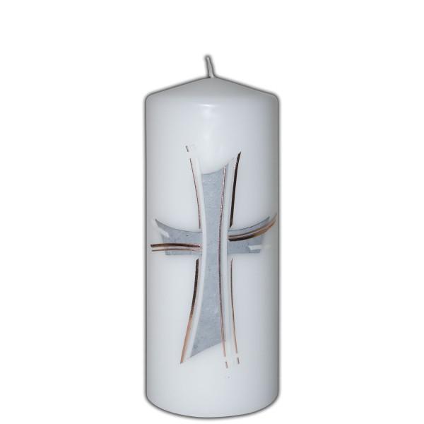 Gedenkkerze-Trauerkerze-Kreuz Test