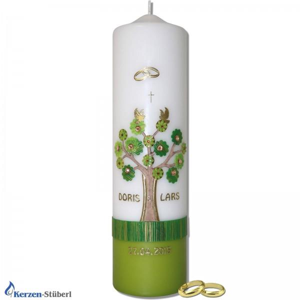 Hochzeitskerze-Lebensbaum