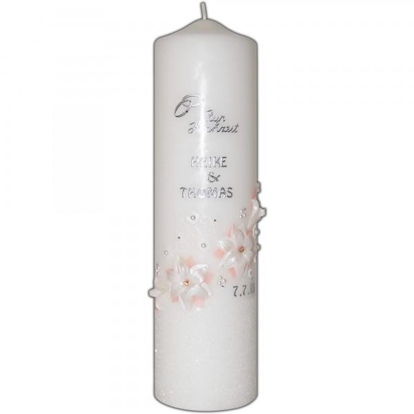 Hochzeitskerze-Brautkerze-Orchidee