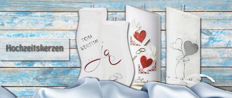 Handgefertigte Hochzeitskerzen Mit Gratis Beschriftung Kerzen Stuberl
