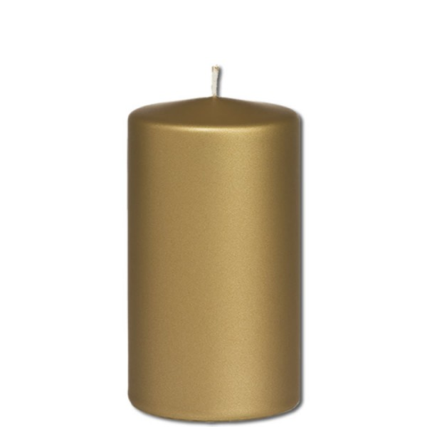 Kerze Farbe Gold D-Luxe | 120x70
