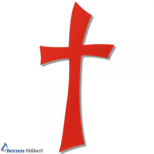 Kreuz-Wachs-Rot Kerzen basteln Test