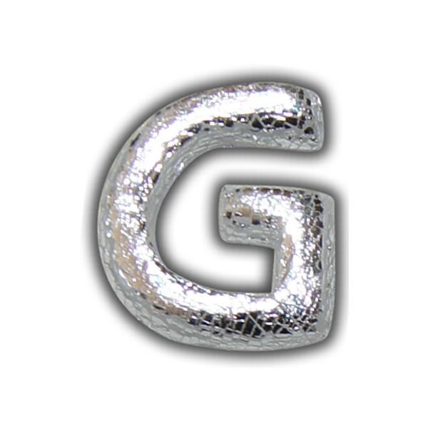 Buchstabe-G-Silber-Echtwachs