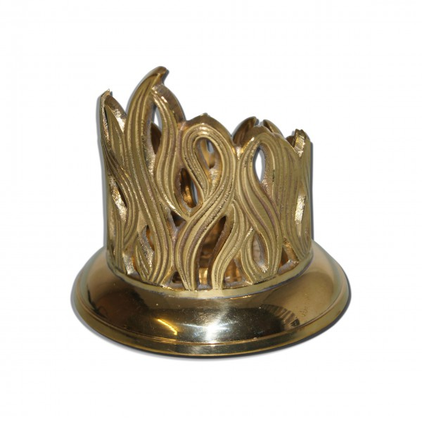 Metall-Kerzenhalter-Gold