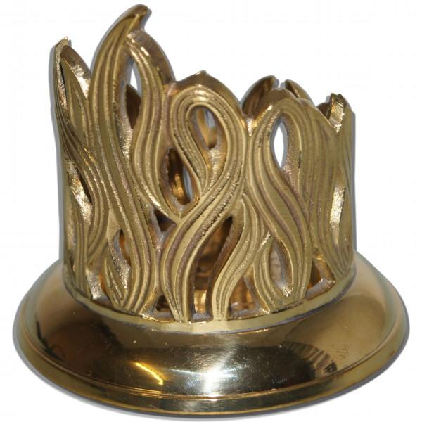 Metall-Kerzenhalter Gold
