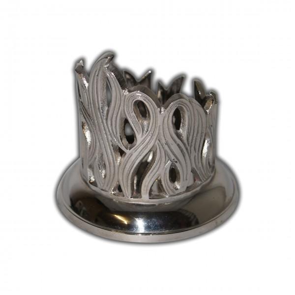Metall-Kerzenhalter-Silber