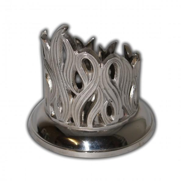Metall-Kerzenhalter Silber