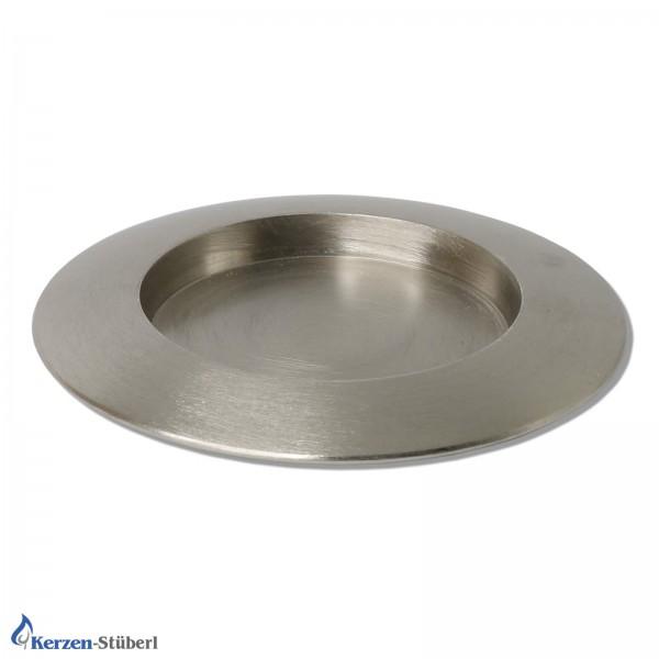 Kerzenhalter-Metall-Silber gebürstet Test