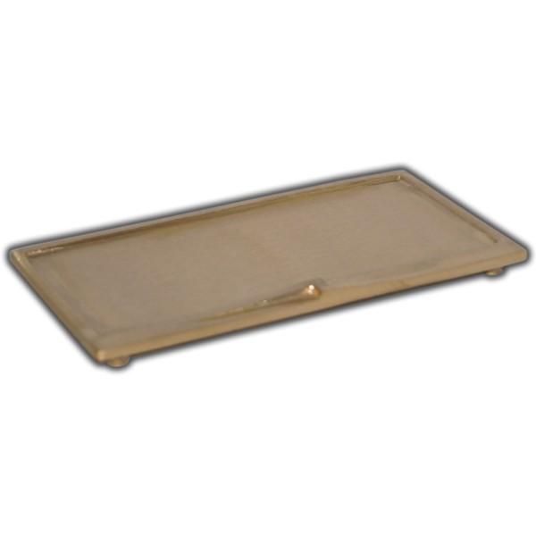 Kerzenteller-Gold-Gebürstet Test