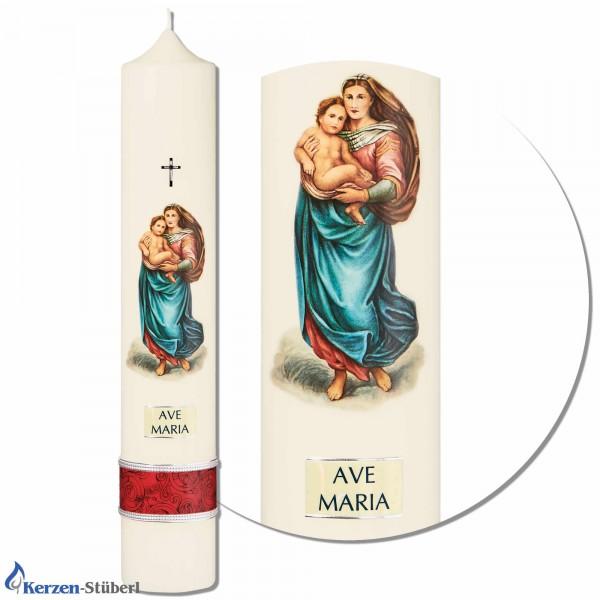 Marienkerze - Ave Maria Test