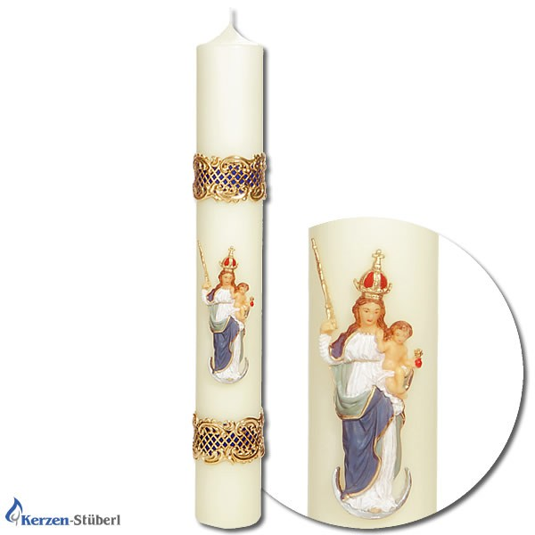 Patrona Bavaria - Religiöse Kerzen - Marienkerzen