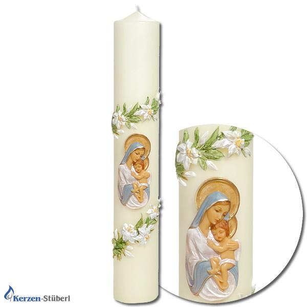 Marienkerzen - Maria mit Jesukind
