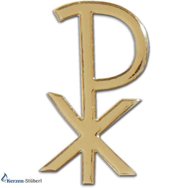 Pax in Gold Kerzenverziermaterial zum selber basteln