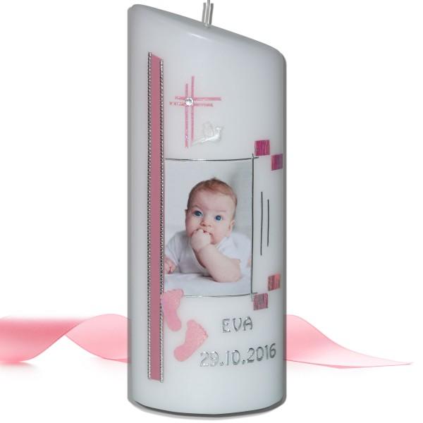 Taufkerze-Fotokerze-Geburtskerze Test