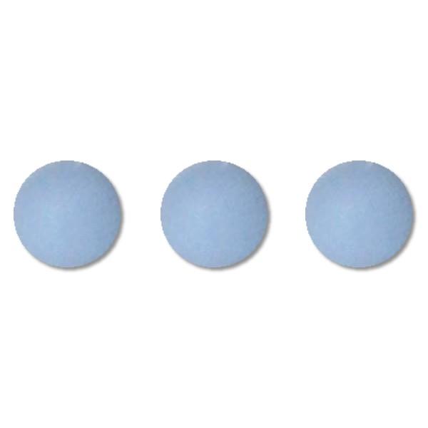 Hellblaue Punkte-Wachs Test