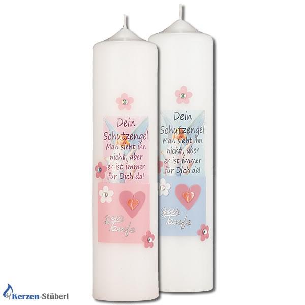 Taufkerzen für Mädchen und Jungen- Brigitte - Dein Schutzengel