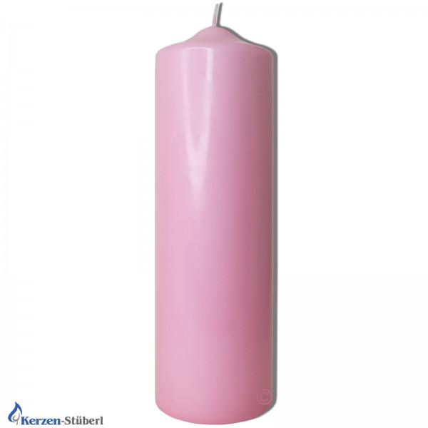 Tischkerze-Bastelkerze-Rosa-Pink Test