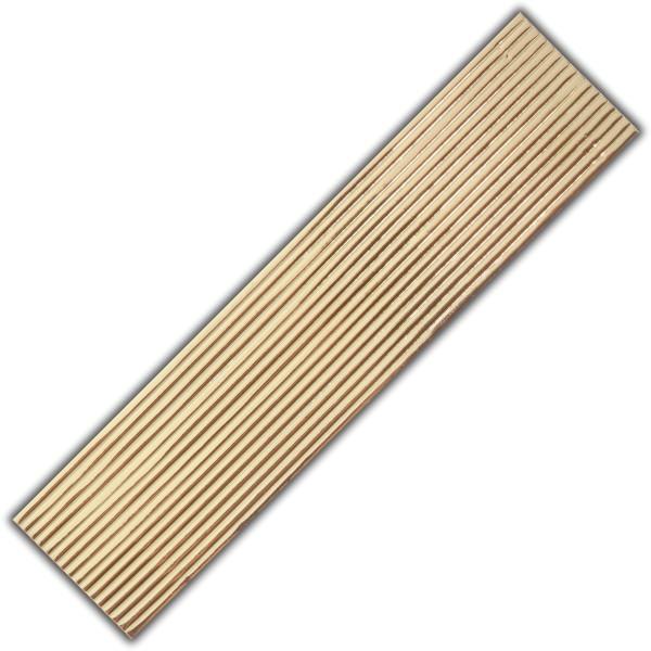 Verzierwachs-Flachstreifen-Gold Test