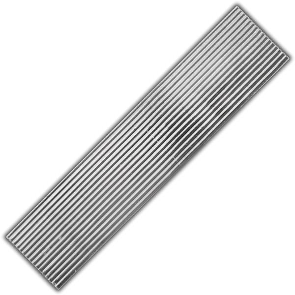 Verzierwachs-Flachstreifen Silber Test
