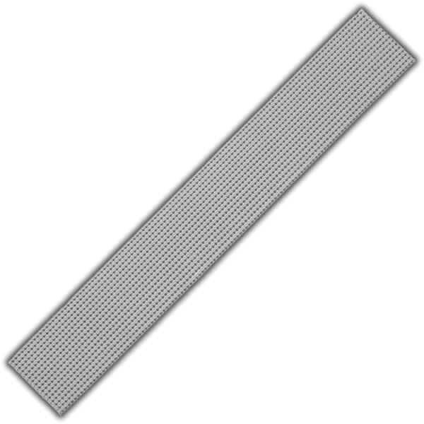 Verzierwachs-Perlstreifen-Silber