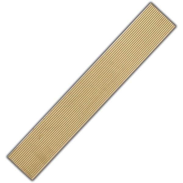 Verzierwachs-Rundstreifen-Gold Test