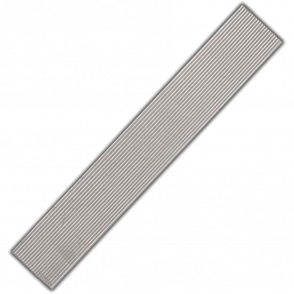 Verzierwachs-Rundstreifen-Silber