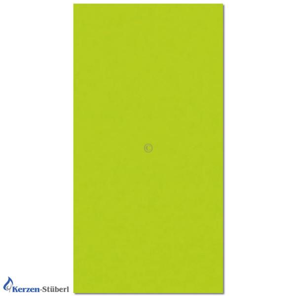 Verzierwachsplatte-Gelbgrün Test