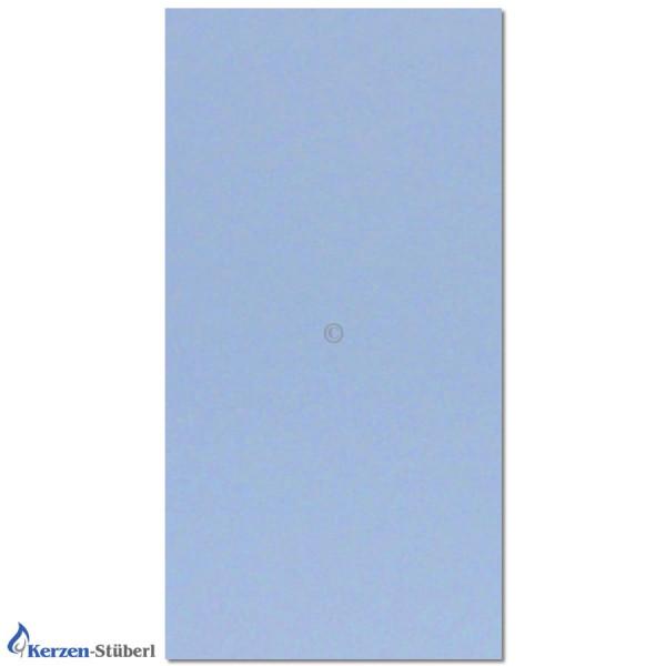 Verzierwachsplatte-Hellblau Test