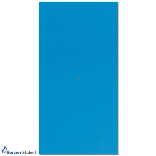 Verzierwachsplatte-Lichtblau Test