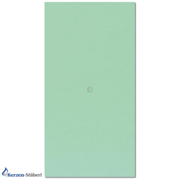 Wachsplatte-Pastellgrün Test