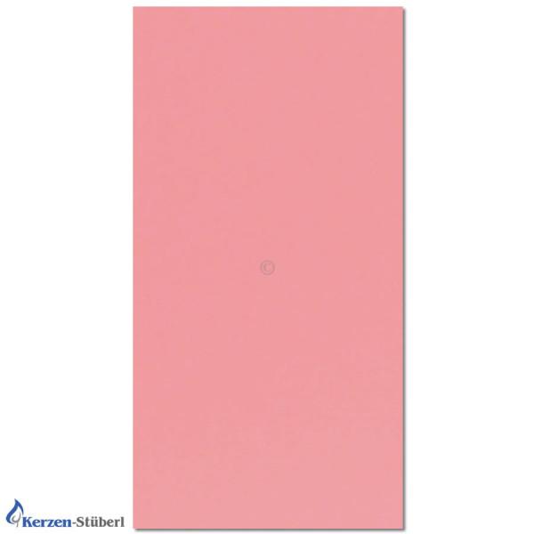 Verzierwachsplatte-Rosa Test