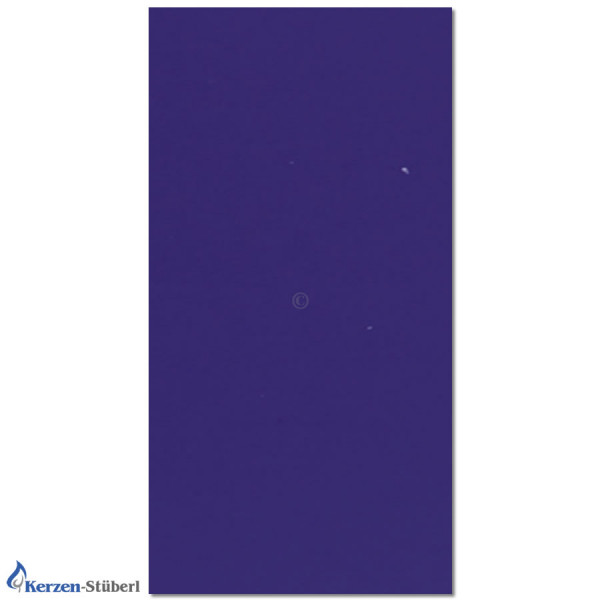 Verzierwachsplatte-Ultramarin Test