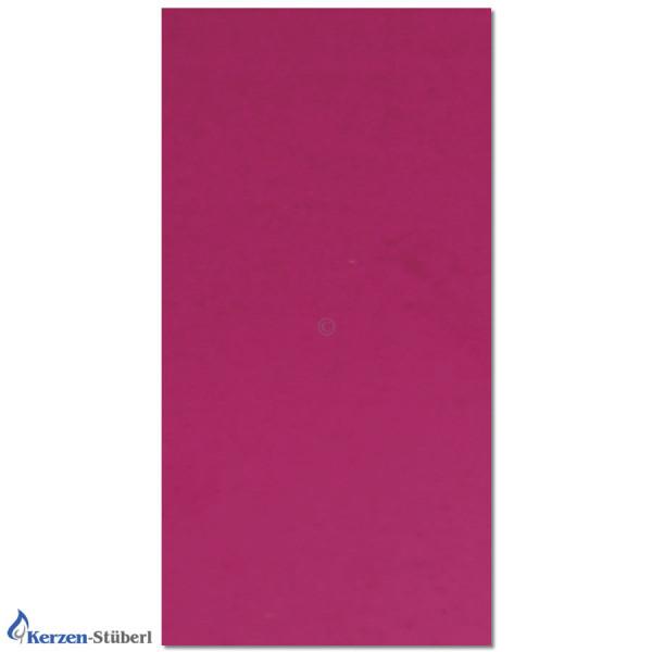 Verzierwachsplatte-Violett Test