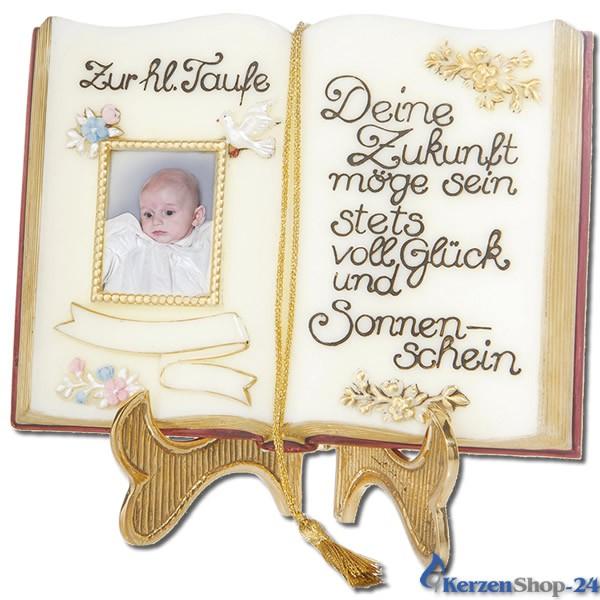 """Wachsbuch """"Zur heiligen Taufe"""""""
