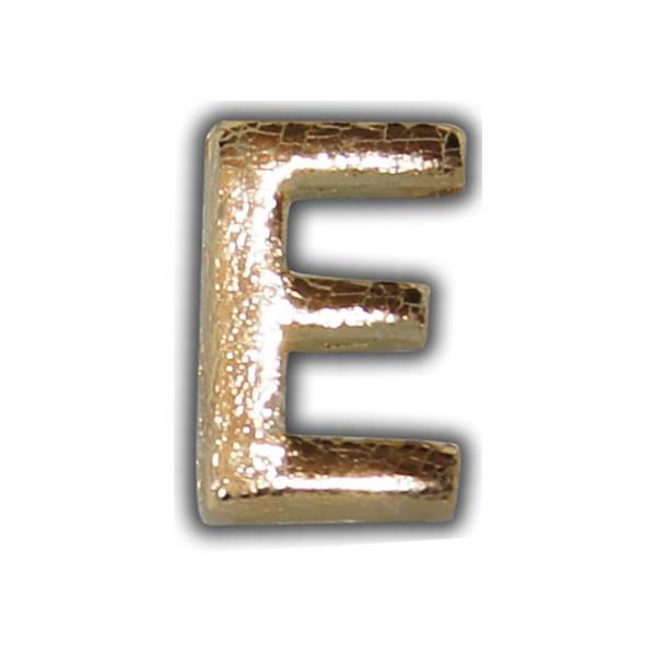 """Wachsbuchstabe """"E"""" Gold-Modern Test"""