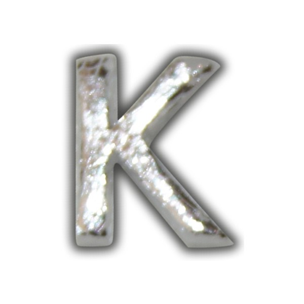 "Wachsbuchstabe ""J"" in Silber zum Kerzen selber beschriften Test"