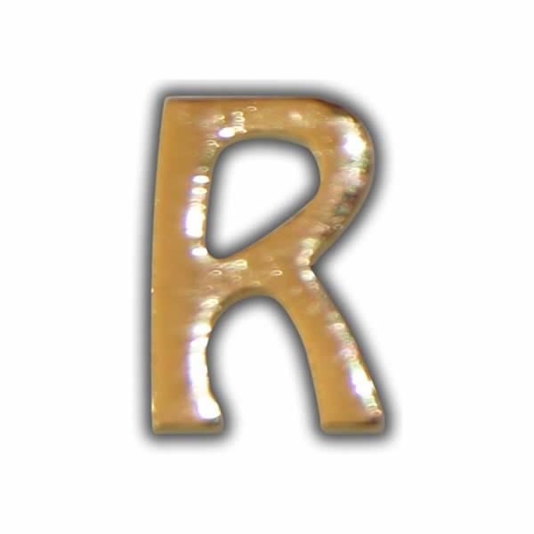 """Wachsbuchstabe """"R"""" Gold zum Kerzen beschriften Test"""