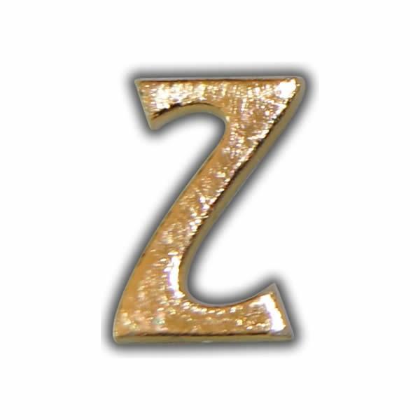 """Wachsbuchstabe """"Z"""" Gold zum Kerzen beschriften Test"""