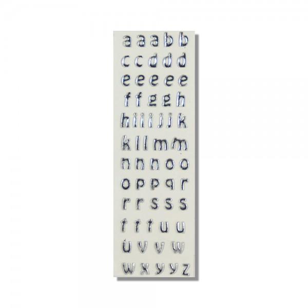 Wachsbuchstaben-Silber Test
