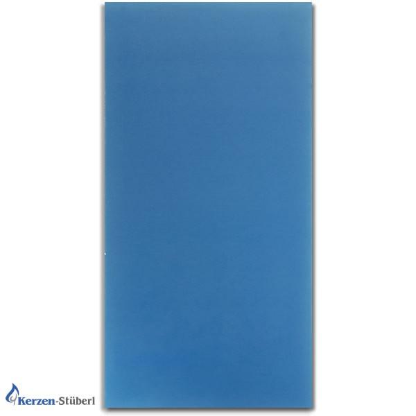 Wachsplatte Azurblau