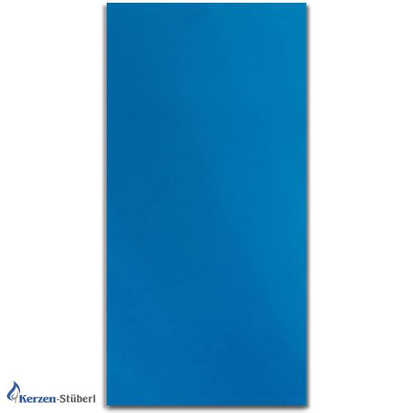 Wachsplatte Blau