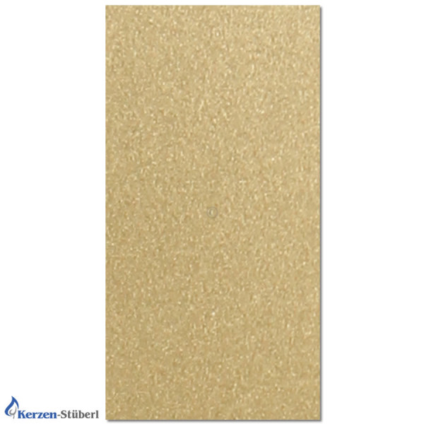 Wachsplatte-Bronzegold-Metalloptik Test