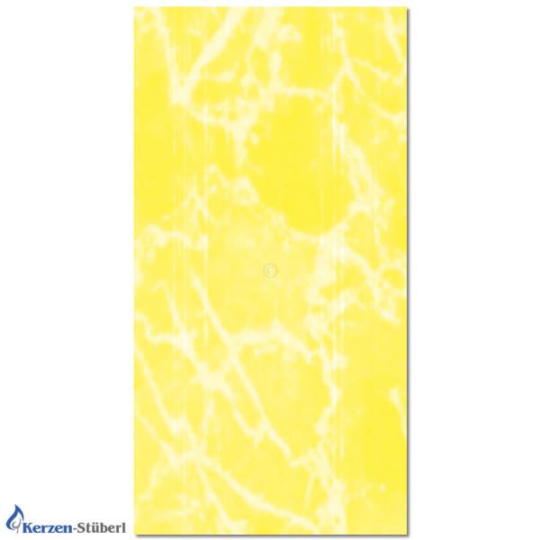 Wachsplatte-Gelb-Marmoriert Test
