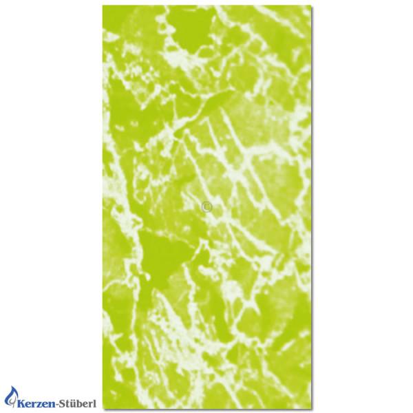 Wachsplatte-Marmoriert-Grün Test
