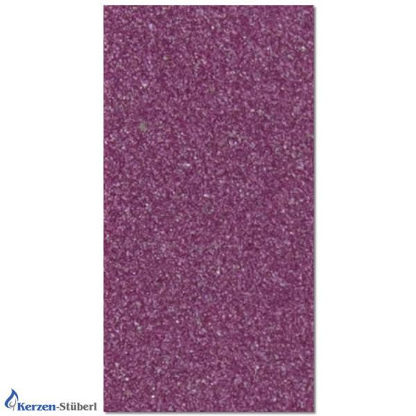 Wachsplatte-Violett-Metalloptik Test